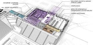 stadium floor plan vanier family football complex k state athletics master plan