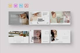 photo postcard fashion postcard card templates creative market