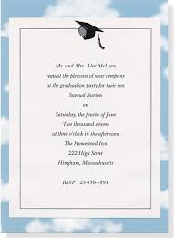 graduation invitation wording free invitation ideas
