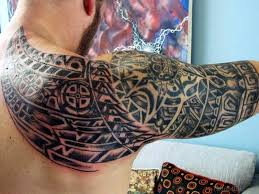 47 best aztec tattoos on shoulder