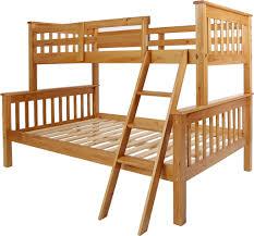 3ft Bunk Beds America 2ft6 Solid Luxury Whitewash Pine Bunk Beds