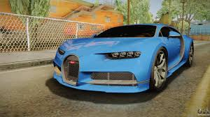 car bugatti 2016 bugatti for gta san andreas