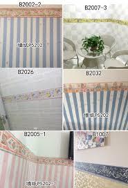 Wallpaper Border For Bathrooms Aliexpress Com Buy 10m Self Adhsive Pvc Wallpaper Border Home