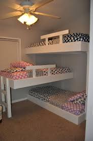 3 Tier Bunk Bed 3 Tier Bunk Beds White Bed