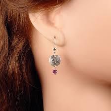 seconds earrings black water siren studio reiki symbol studio seconds black
