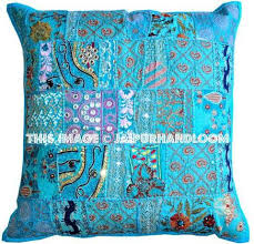 24x24 inch vintage patchwork throw pillows patchwork pillows cushion