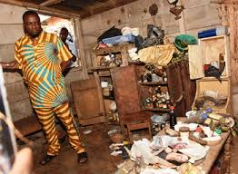 badoo bureau nigeria uncover shrine used by badoo in ogun state