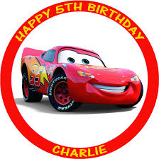 cars cake toppers disney cars 8 cake topper edible icing
