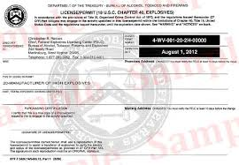 apply for a license bureau of alcohol tobacco firearms and