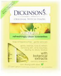 amazon com dickinson u0027s refreshingly clean cleansing cloths 25