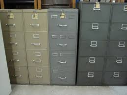 Vintage Metal File Cabinet Merchants Office Furniture Used Office Furniture Bentson
