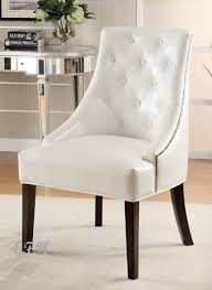 best white leather accent chair living room leather chairs facil