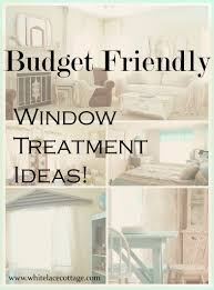 window treatment ideas that are budget friendly