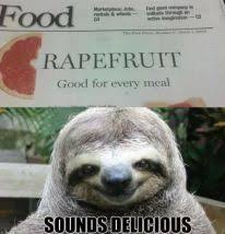 Rape Sloth Memes - 75 best inappropriately hilarious sloth images on pinterest sloth
