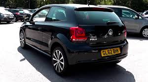 2012 volkswagen polo hatch match 1 2l deep black metallic at jcb