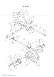 yanmar ym135 ym135d diesel tractor parts manual