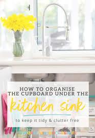 kitchen cupboard storage ideas ebay how to organise the kitchen sink cupboard the