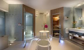 Bathroom Lighting Design Tips by Modern Bathroom Lighting A Modern Bathroom In A Light Color