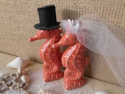 seahorse wedding cake topper idea in 2017 bella wedding