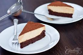 flourless chocolate cake with coffee mousse home cooking adventure