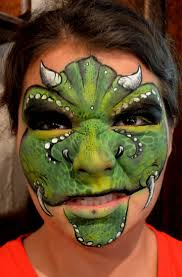 cool face painting for halloween best 25 dinosaur face painting ideas on pinterest facepaint