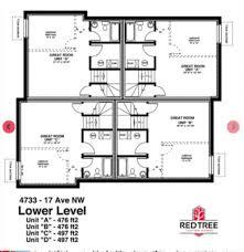 fourplex floor plans montgomery new 3br 3 5bath home fourplex calgary
