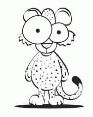 cheetah coloring pages print kids coloring pages printable