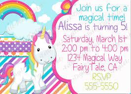 unicorn birthday invitations u2013 gangcraft net