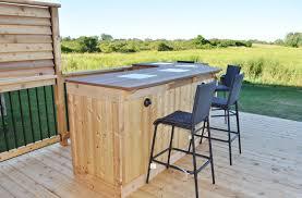 Backyard Patio Ideas Diy by Diy Outdoor Pub Table Plans Patio Ideas