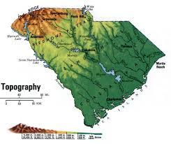 South Carolina landscapes images South carolina topographic map jpg
