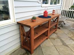 Patio Serving Table Patio Storage Cabinet Designmag Co Pertaining To Outdoor Buffet