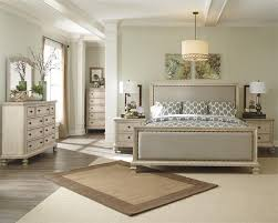 Upholstered King Size Bed Demarlos King Size Upholstered Bed By Millennium