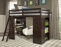 loft bed with desk marvelous room decor with bunk bed and