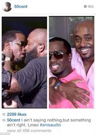 Rick Ross Bra Meme - 50 cent suggests diddy and rick ross are gay in instagram photos