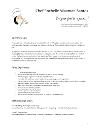 Sample Resume For Google by Chef Resumes Resume Cv Cover Letter