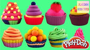 10 playdoh cupcakes cookies kitchen toys playdough