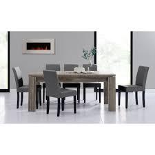 Esszimmertisch Ebay En Casa Esstisch 180x95 Eiche Dunkel 6 Stühle Dunkelgrau