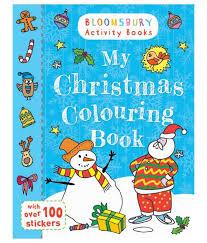 christmas colouring book paperback english buy christmas