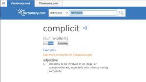 dictionary com u0027s word of the year u0027complicit u0027