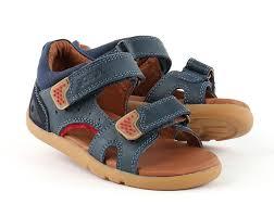 bobux i walk wave sandal navy