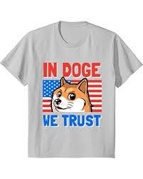 Doge Meme T Shirt - deal alert kids in doge we trust t shirt funny doge meme t shirt