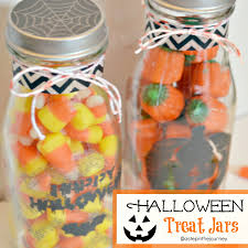 Halloween Jars Crafts by Halloween Treat Jars With Martha Stewart Crafts