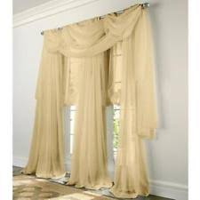 window scarf gold ebay
