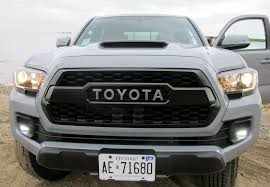 toyota tacoma silver tacoma goes anywhere in trd pro style wheels ca