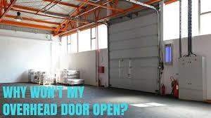 Overhead Door Why Won T My Overhead Door Open All Pro Door Repair