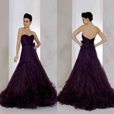 purple wedding dresses purple bridesmaid dress vosoi