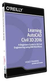 amazon com learning autocad civil 3d 2016 training dvd