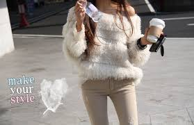 fedex delivery gorgeous thread faux fur glam fitted sweaters