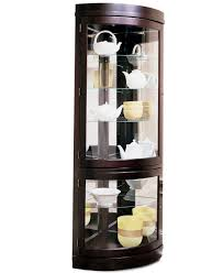 Glass Curio Cabinet With Lights Black Corner Curio Cabinet With Light What Is A Cabinets Home