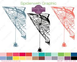 halloween color palette spiderweb clipart commercial use clipart spider graphic 2016 color